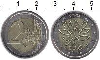 Изображение Монеты Финляндия 2 евро 2004 Биметалл XF