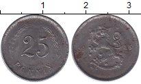 Изображение Монеты Финляндия 25 пенни 1943 Железо XF