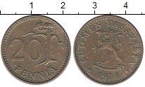 Изображение Монеты Финляндия 20 пенсов 1978 Латунь VF