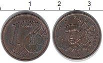 Изображение Монеты Франция 1 евроцент 1999 Медь VF