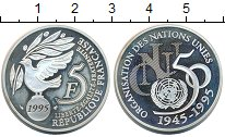 Изображение Монеты Франция 5 франков 1995 Серебро UNC