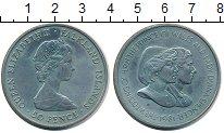 Изображение Монеты Фолклендские острова 50 пенсов 1981 Медно-никель UNC