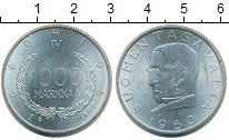 Изображение Монеты Финляндия 1000 марок 1960 Серебро UNC