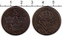 Изображение Монеты Швеция 5 эре 1947 Медно-никель XF
