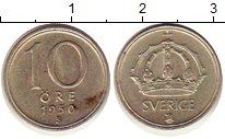 Изображение Монеты Швеция 10 эре 1950 Серебро VF