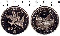 Изображение Монеты Эритрея 1 доллар 1996 Медно-никель UNC