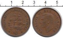 Изображение Монеты ЮАР 1/2 пенни 1945 Бронза XF