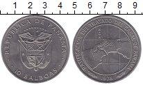 Изображение Монеты Панама 10 бальбоа 1978 Медно-никель UNC