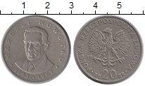 Изображение Монеты Польша 20 злотых 1976 Медно-никель XF Марчели Новотко