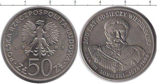 Картинка Монеты Польша 50 злотых Медно-никель 1983