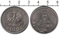 Изображение Монеты Польша 100 злотых 1988 Медно-никель UNC- Королева Польши Ядви