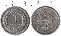 Изображение Монеты Польша 1 злотый 1995 Медно-никель UNC-
