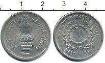 Изображение Монеты Индия 5 рупий 1994 Медно-никель XF