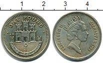Изображение Монеты Гибралтар 1 фунт 1993 Медно-никель UNC-