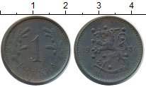 Изображение Монеты Финляндия 1 марка 1950 Железо XF
