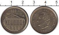 Изображение Монеты Испания 100 песет 1997 Латунь UNC-