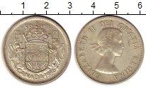 Изображение Монеты Канада 50 центов 1956 Серебро XF