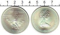Изображение Монеты Канада 5 долларов 1976 Серебро UNC-
