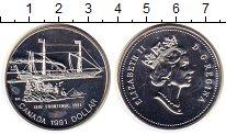 Изображение Монеты Канада 1 доллар 1991 Серебро UNC-