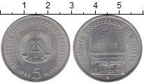 Изображение Монеты ГДР 5 марок 1983 Медно-никель UNC-