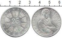 Изображение Монеты Австрия 25 шиллингов 1966 Серебро UNC-