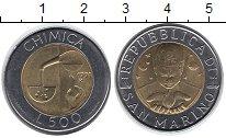 Изображение Монеты Сан-Марино 500 лир 1998 Биметалл UNC-