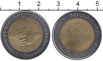 Изображение Монеты Ватикан 500 лир 1984 Биметалл UNC-