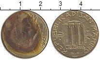 Изображение Монеты Сан-Марино 200 лир 1985 Латунь XF