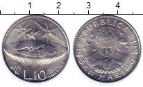 Изображение Монеты Сан-Марино 10 лир 1999 Алюминий UNC- R География