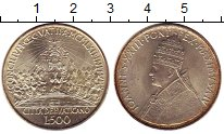 Изображение Монеты Ватикан 500 лир 1962 Серебро UNC- Иоанн XXIII