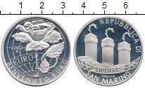 Изображение Монеты Сан-Марино 10 евро 2002 Серебро Proof