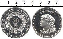 Монета Швейцария 50 франков Серебро 2006 Proof фото
