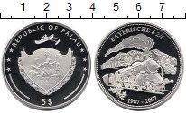 Монета Палау 5 долларов Серебро 2007 Proof