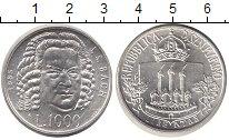 Изображение Монеты Сан-Марино 1000 лир 1985 Серебро UNC