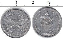 Изображение Монеты Новая Каледония 50 сантим 1949 Алюминий UNC-