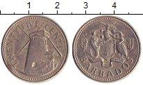 Изображение Дешевые монеты Барбадос 25 центов 1981 Медно-никель XF