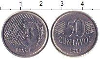 Изображение Дешевые монеты Бразилия 50 сентаво 1994 Железо XF Регулярный выпуск