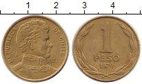 Изображение Дешевые монеты Чили 1 песо 1979 Латунь VF+