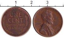 Изображение Дешевые монеты США 1 цент 1956 Медь XF-