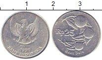 Изображение Дешевые монеты Индонезия 25 рупий 1996 Алюминий VF