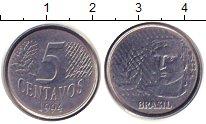 Изображение Дешевые монеты Бразилия 5 сентаво 1994 Железо XF Регулярный выпуск