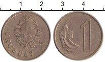 Изображение Дешевые монеты Уругвай 1 песо 1980 Медно-никель VF