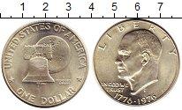 Изображение Монеты США 1 доллар 1976 Серебро UNC