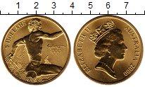Изображение Монеты Австралия 5 долларов 2000 Латунь UNC-