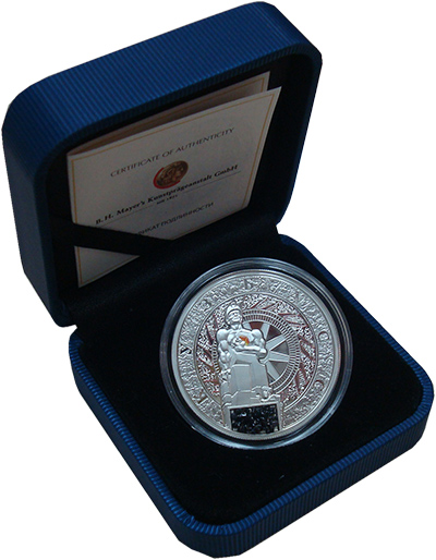 Изображение Подарочные наборы Ниуэ Кузбасс 2012 Серебро Proof Монета номиналом 1 д