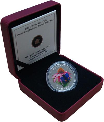 Изображение Подарочные монеты Канада Флора и фауна 2013 Серебро Proof