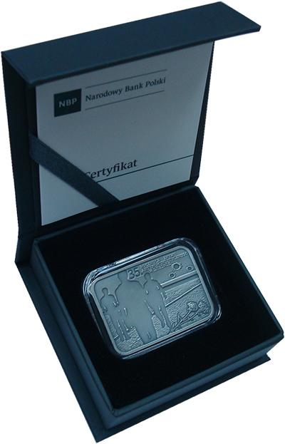 Изображение Подарочные монеты Польша 10 злотых 2017 Серебро UNC Монета (серебро 925.