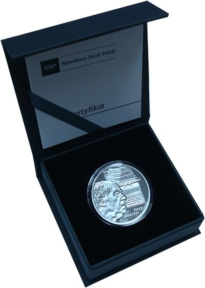 Изображение Подарочные монеты Польша 10 злотых 2017 Серебро Proof Монета (серебро 925.