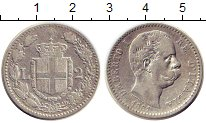 Изображение Монеты Италия 2 лиры 1881 Серебро XF-
