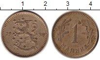 Изображение Монеты Финляндия 1 марка 1938 Медно-никель XF-